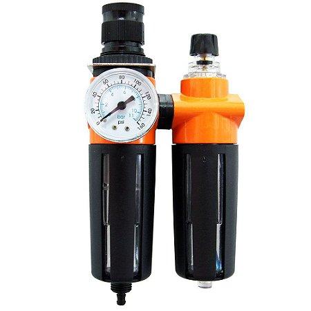 Controlador Pressão e Lubrificação de 1/4 Pol. WAFT-6236