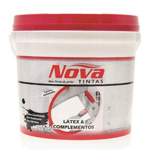 Massa Corrida PVA NOVATINTAS 900ml Balde