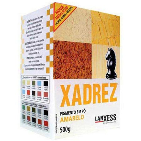 Pigmento em Pó XADREZ Corante Amarelo 500gr