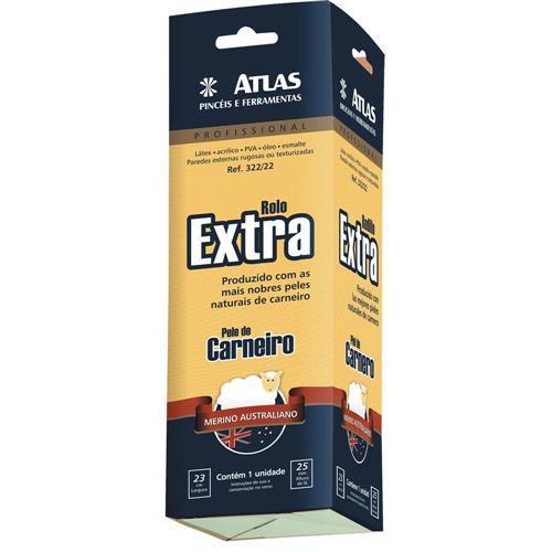 Rolo de Pele de Carneiro Extra Ref 322/22 Atlas