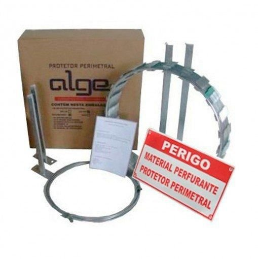 Cerca Perimetral Kit Facil Diametro 45cm c/ 10 metros Alge