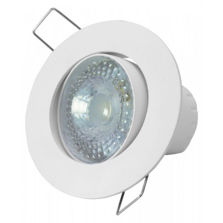 Spot LED Embutir Redondo Taschibra SP 25 5W Luz Amarela Branco