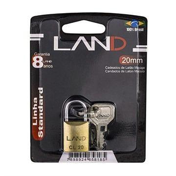 Cadeado 20mm Blister LAND