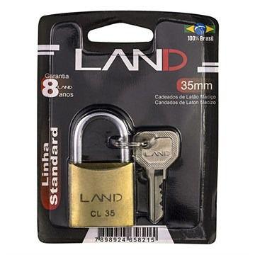 Cadeado 35mm Blister LAND