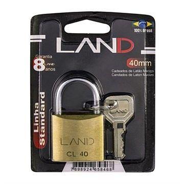 Cadeado 40mm Blister LAND