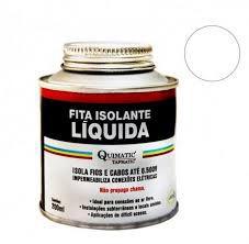 Fita Isolante Liquida 200ml Preto Quimatic