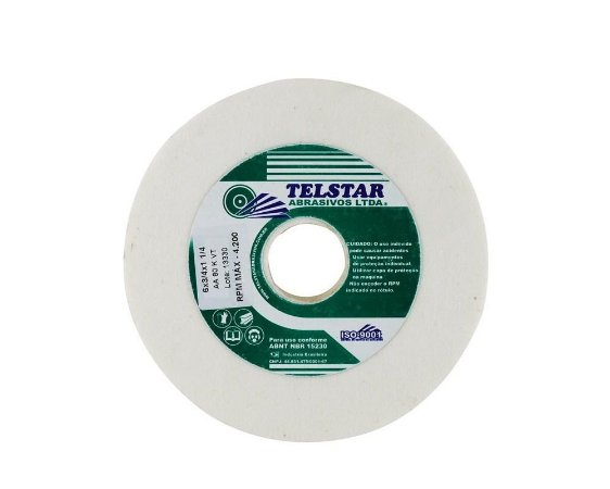 """Rebolo Branco 6"""" x 3/4"""" TELSTAR AA80"""