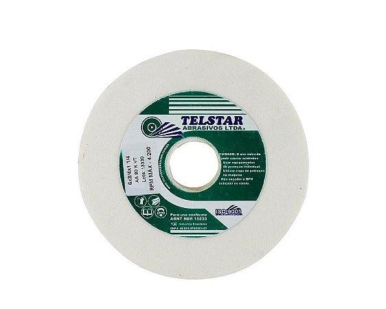 """Rebolo Branco 6"""" x 3/4"""" TELSTAR AA120"""