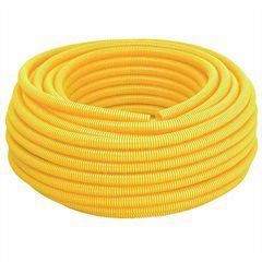 """Conduite Corrugado Amarelo Amanco 1/2"""" x 50mt"""