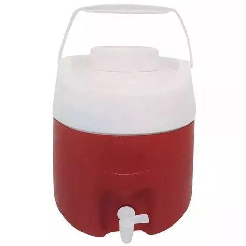 Botijão Térmico 4 litros c/ Torneira GLOBALSOL Azul ou Vermelho