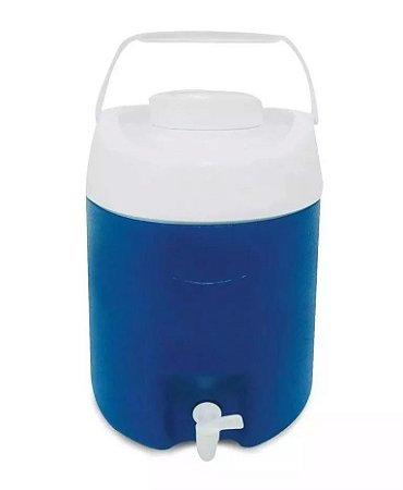 Botijão Térmico 12 litros c/ Torneira Azul ou Vermelho