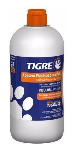Cola PVC TIGRE 850g Frasco