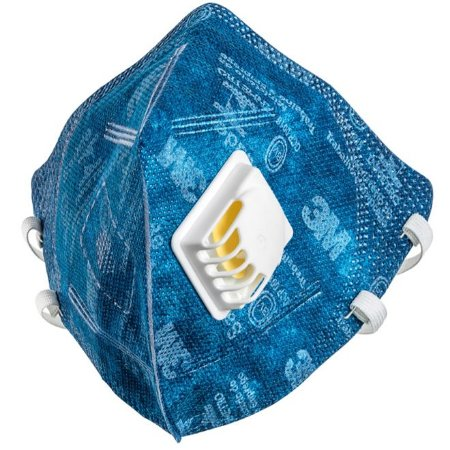 Máscara 3M Respirador Descartável PFF1 c/ Valvula 9812