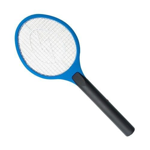 Raquete Elétrica Mata Mosquitos - com 2 pilha AAA BRASFORT 8245