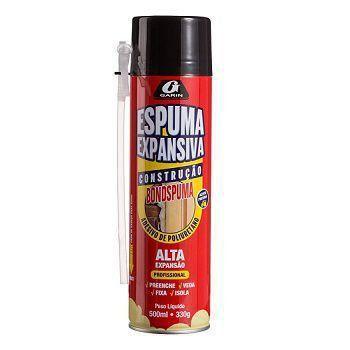 Espuma De Poliuretano Spray 500ml 330gr GARIN
