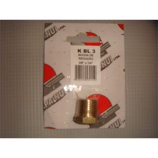 Bucha de Reducao p/ Ar Comprimido 3/8 x 1/8 BL2