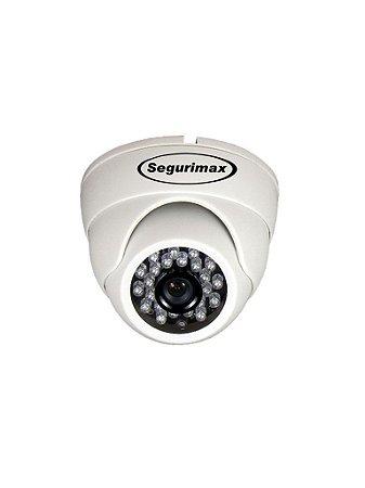 Câmera Segurança Dome Multif. 4 EM 1 HD/24 Leds, 1.0MP, 2.8mm