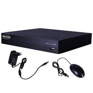 Gravador Digital DVR Multifunção 5 EM 1 HD/8 Canais SEGURIMAX