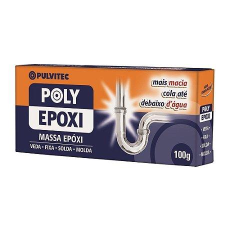 Adesivo Epoxi Massa PULVITEC 100gr 12un