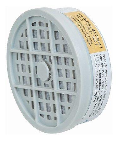 Filtro para Respirador Vapores Org. + Gases PLASTCOR 1209 RO Fit