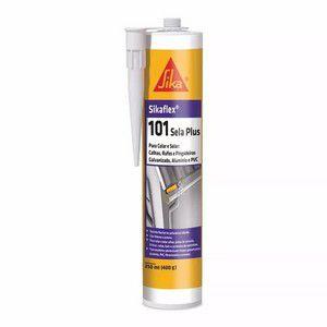 Cola Pu Selante Sikaflex 101 Branco 400 Gr