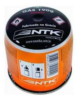 Gas Cartucho Butano 190gr Piezo NAUTIKA
