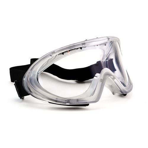 Óculos Proteção Ampla Visão VALEPLAST Spider Vermelho
