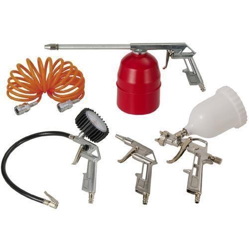 Kit Para Compressor Schulz 5 Pç Calibrador Pistola De Pintura