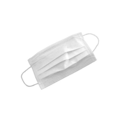 Mascara Proteção Descartavel Branca TNT TRIPLA 10 unidades