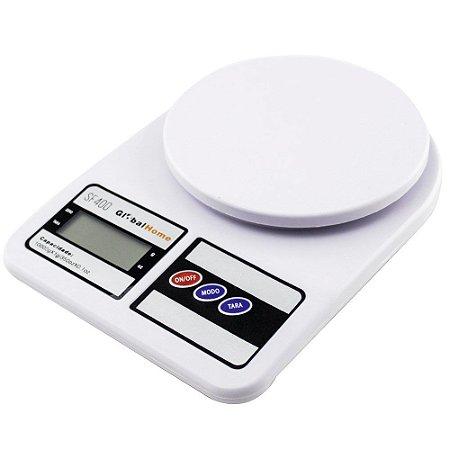 Balança Cozinha Digital 10kg GLOBALMIX Pilha SF400