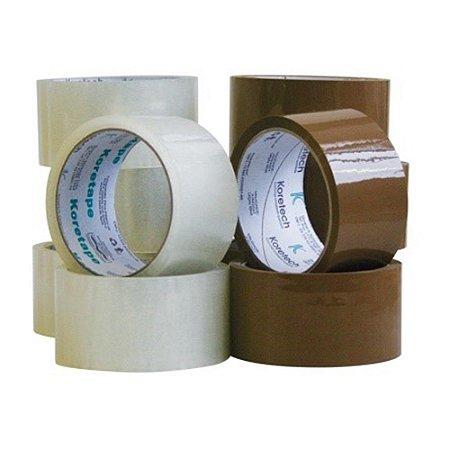 Fita Embalagem Transparente 48X100 5 rolos