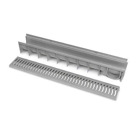 Ralo Linear ROMA c/ Grelha 100 X 14,5cm ROMA