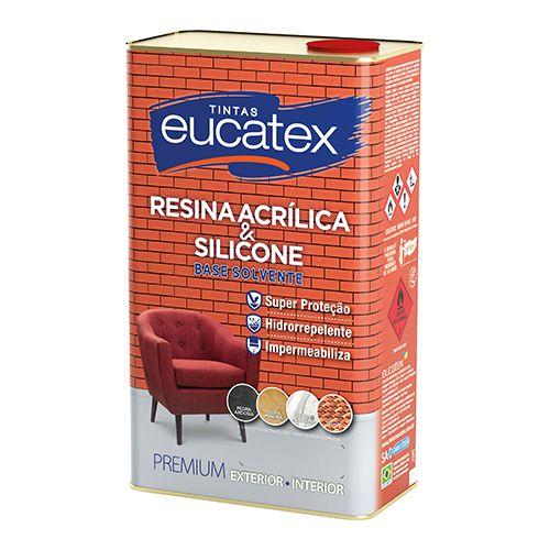 Resina Acrílica Incolor EUCATEX 05lt
