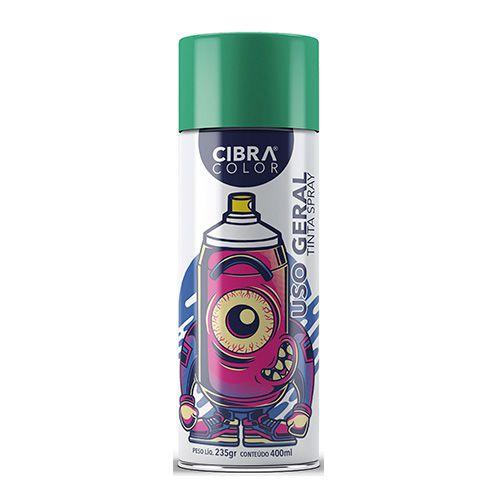 Tinta Spray CIBRACOLOR Verde Claro 400ML