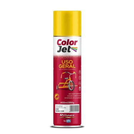 Tinta Spray Grafite 350ML RENNER