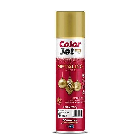 Tinta Spray Metálico Cromado 400ML RENNER