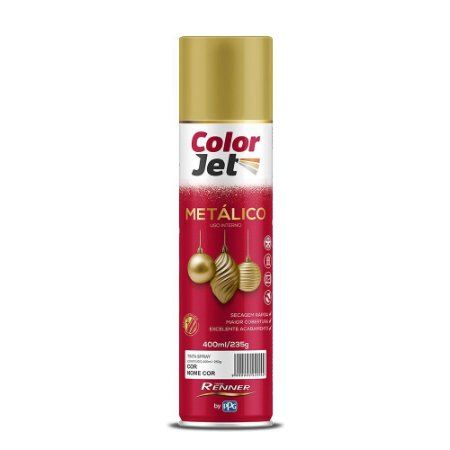 Tinta Spray Metálico Verde 400ML RENNER