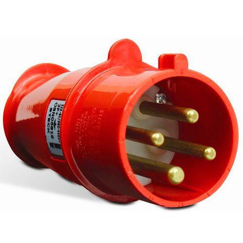 Plug Steck 3P+T 16A 380/440V 6H VM 4076
