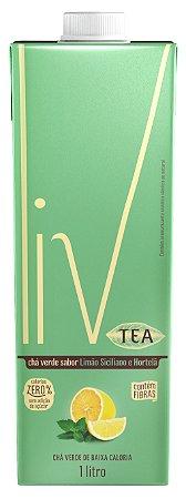 Liv Tea Limão Siciliano e Hortelã - 60 uni. litro