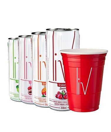 Kit Celebração  - Ganhe 50 Red Solo Cup