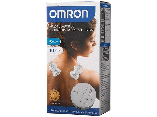 Massageador de Eletroterapia Tens - Portátil - Omron HV-F013-BR