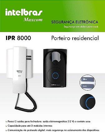 Interfone residencial IPR8010 MAXCOM