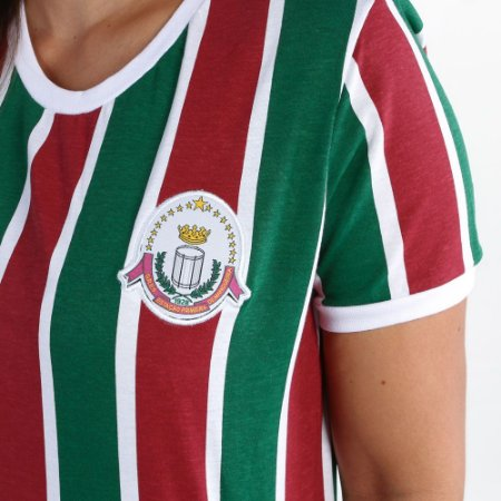 Camisa Mangueira Retrô Flu FEM