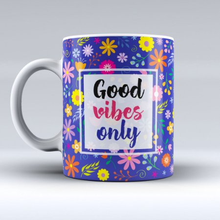 Caneca - Good Vibes Only