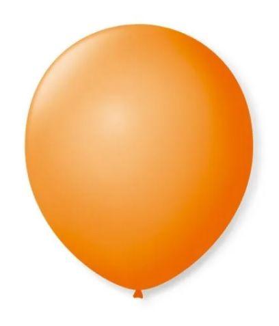Balão Nº 7 Laranja Mandarim São Roque C/ 50 Un.