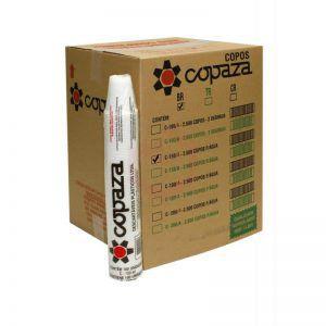 Copo Descartável  400 ml. Branco Copaza ABNT Cx c/ 1000 un.