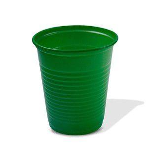 Copo Descartável 200 ml. Verde Escuro Trik ABNT Pcte c/ 50 un.