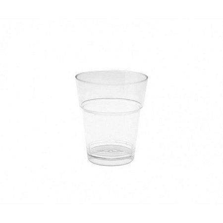 Copo em Acrilico Cristal 10 ml. Plastilania Cx C/ 2.000 Un.