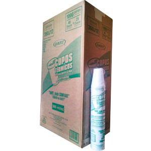 Copo Térmico Isopor 360 ml. Dart Cx c/ 1000 un.