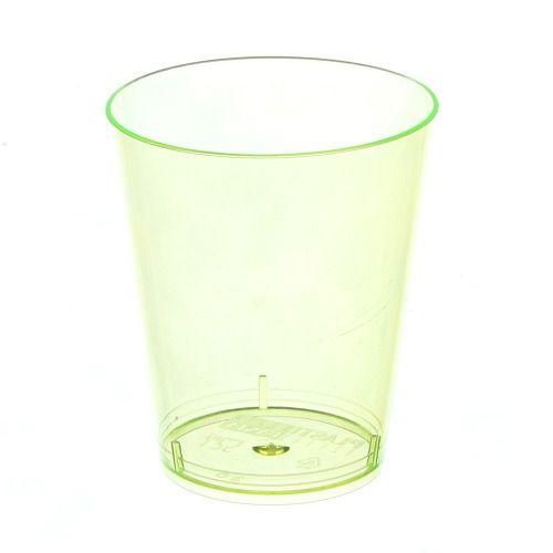 Copo em Acrilico Amarelo 40 ml. Plastilania C/ 10 Un.